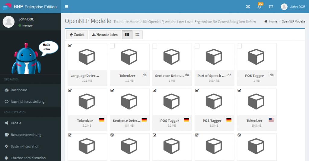 BBP.NLP.OpenNLPModels
